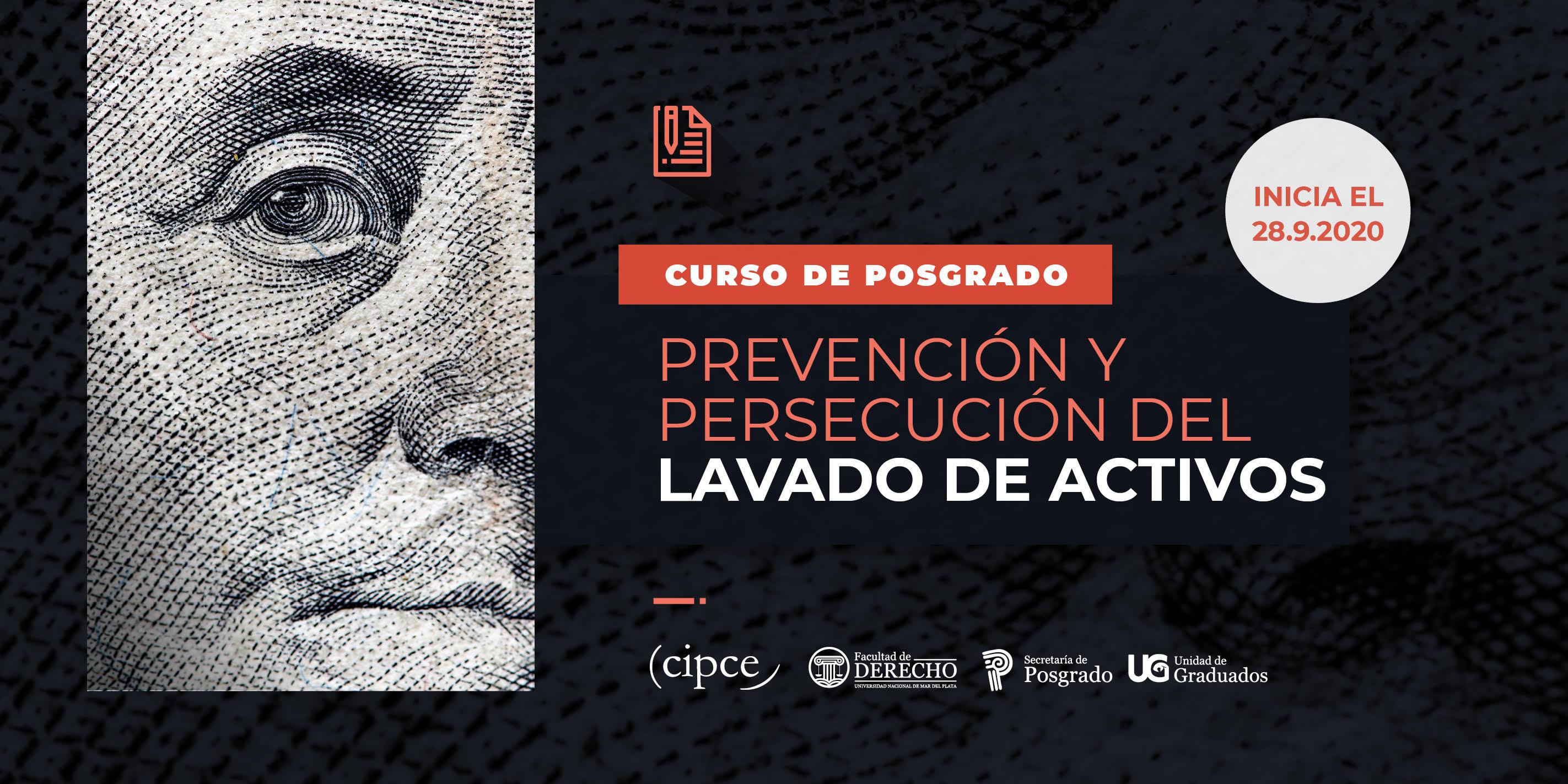 Prevención y persecución del lavado de activos